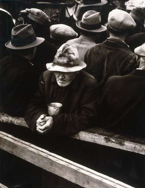 The White Angel Bread Line, San Francisco (1933), 1933; 1957 (gelatin silver print)