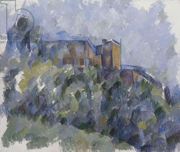 The Black House (oil on canvas)