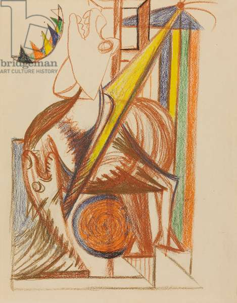 Untitled, c.1939-1940 (coloured pencil on paper)