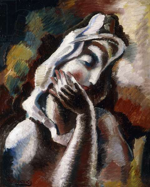 Melancholy,  (oil on canvas)