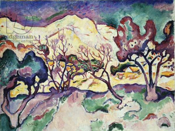 L'Estaque Landscape, 1906 (oil on canvas)