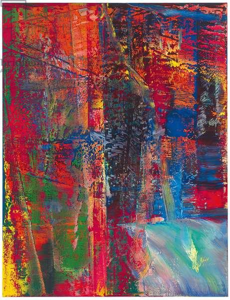 Abstraktes Bild, Dunkel (613-2), 1986 (oil on canvas)