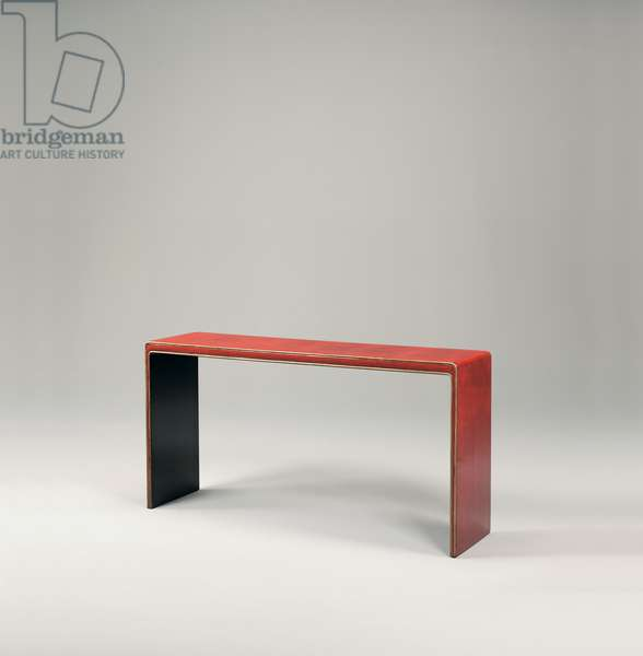 Console table, c.1923 (lacquered wood)