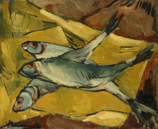 Fish; Les Poissons, 1907-1910 (oil on canvas)