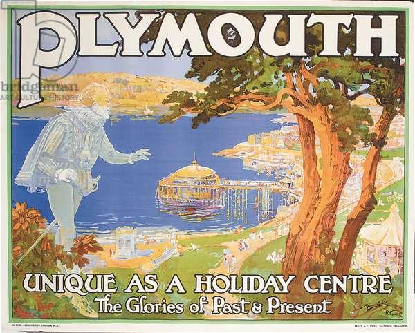 Plymouth (colour litho)