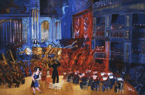 The Orchestra; L'Orchestre, 1927 (oil on canvas)