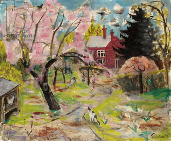 The Cherry Tree, 1946 (oil on canvas)
