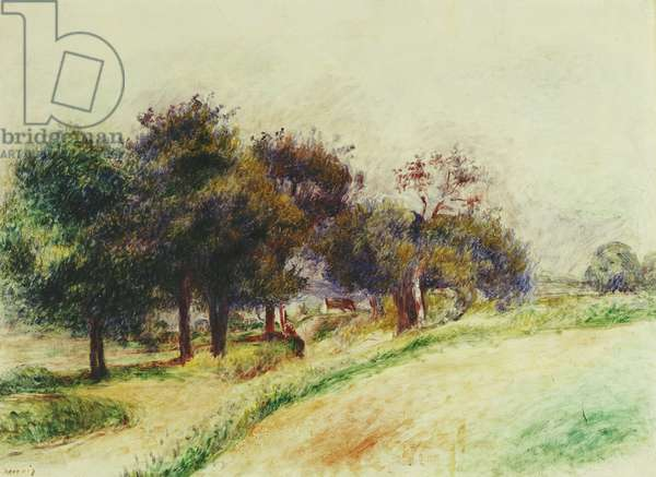 Landscape; Paysage,  (oil on canvas)