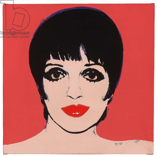 Liza, 1978 (synthetic polymer and silkscreen ink on canvas)