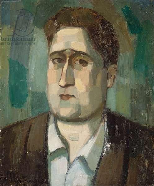 Portrait de Guillaume Apollinaire, 1910 (oil on canvas)