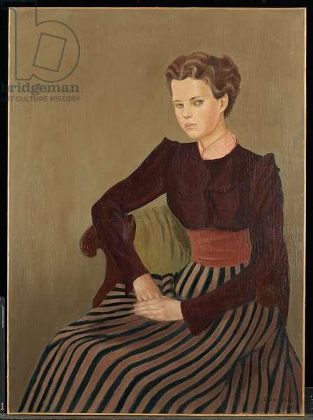Portrait of Gogo Schiaparelli, 1936 (oil on canvas)