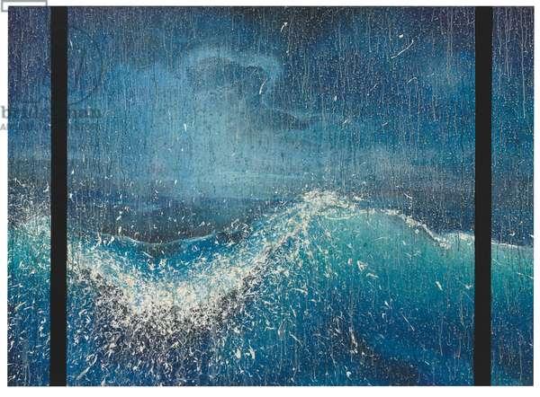 Blue Angle, 1984 (acrylic on canvas)