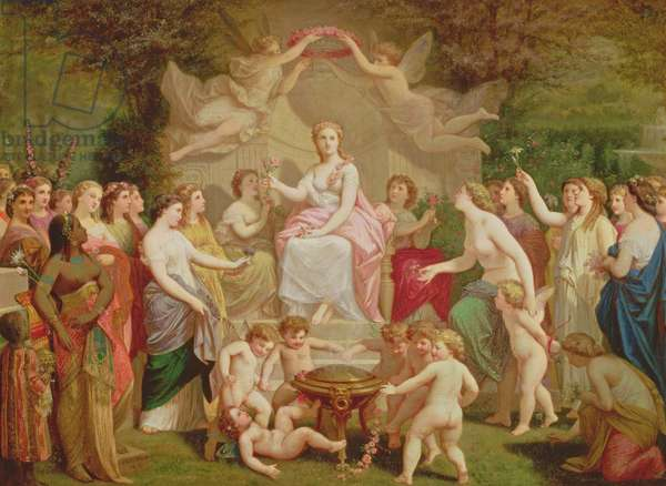 Allegory of Spring, 1871 (oil on canvas)