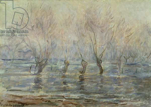 Flood in Giverny; L'Inondation a Giverny, c.1896 (oil on canvas)