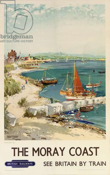 The Moray Coast, poster advertising British Railways (colour litho)