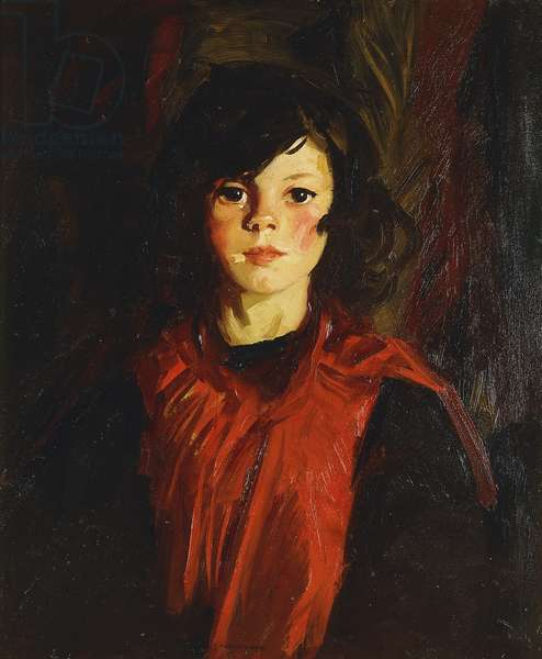 Mary Ann (Mollie), 1926 (oil on canvas)