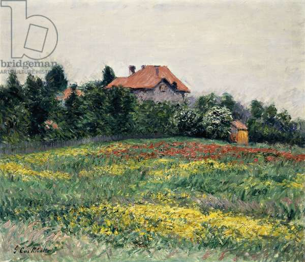 Normandy Countryside; Paysage en Normandie, 1884 (oil on canvas)