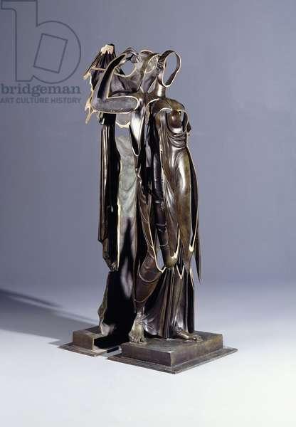 Venus, Open Door; Venus, Porte Ouverte, 1986 (sliced bronze)