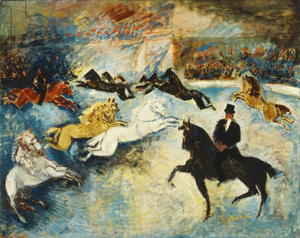 The Circus, 1929 (oil on canvas)