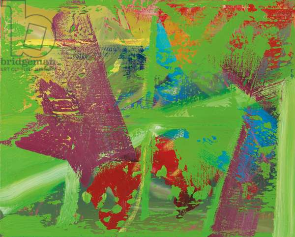 Abstract Image; Abstraktes Bild, 1982 (oil on canvas)