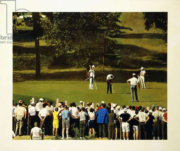 National Open, 1968 (acrylic on canvas)