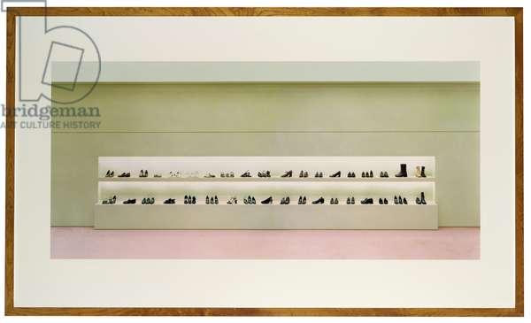 Prada I, 1996 (chromogenic colour-print laminated to Plexiglas , frame)