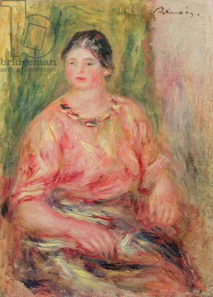 Woman with a Pink Blouse