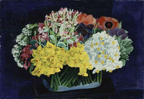 Flowers, 1931 (oil on canvas)