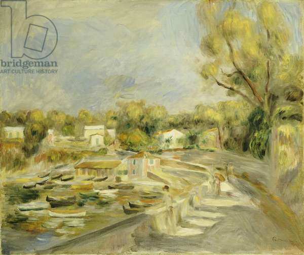 Cagnes Countryside (oil on canvas)