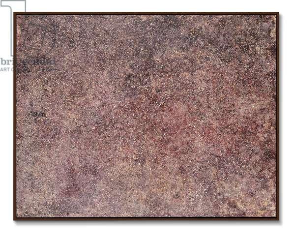 Texturologie IV (Nuancée de rosâtre), 1957 (oil on canvas)
