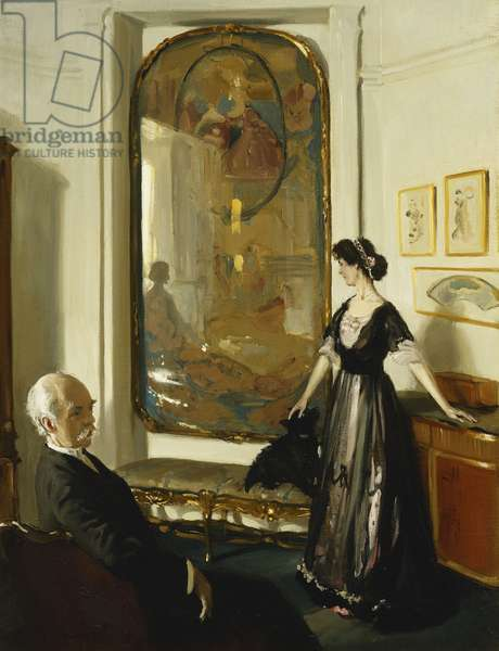 The Conder Room, 1910 (oil on canvas)