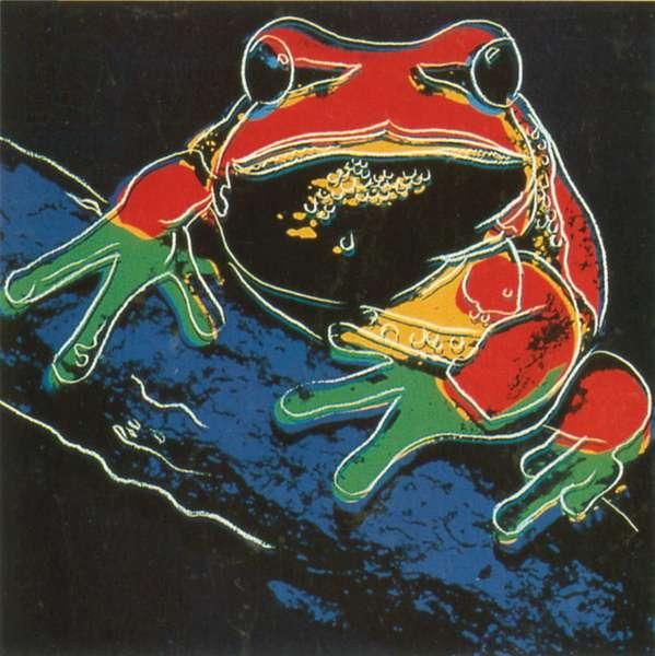 Pine Barrens Tree Frog, 1983 (screenprint)