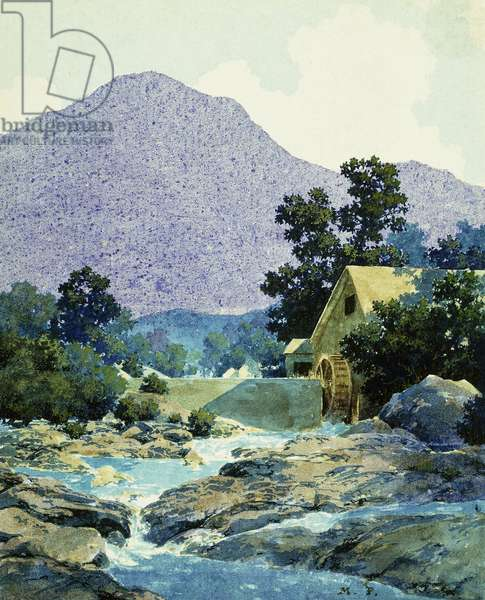 The Rocks and Rills, 1942 (oil on canvas)