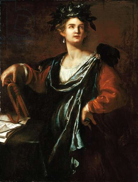 Clio: the Muse of History, 1632 (oil on canvas)