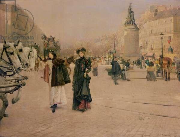 A Parisian Street Scene