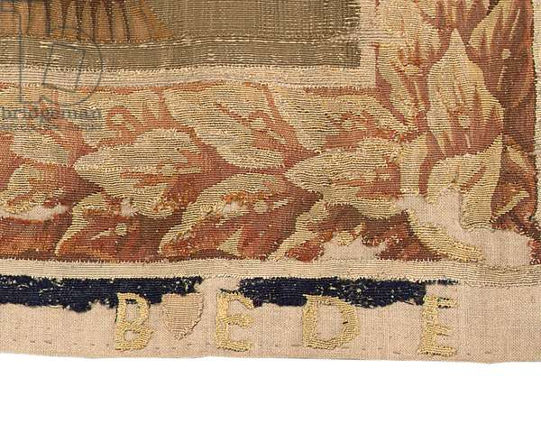Brussels tapestry from a set of six, c.1650 (wool & silk)