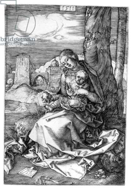 The Virgin and Child with the Pear, 1511 (engraving)