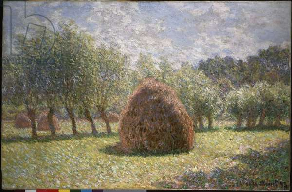 Haystacks at Giverny, 1893 (oil on canvas)