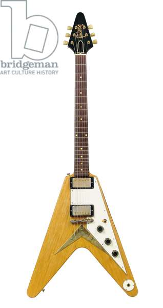 Solid-body Gibson electric guitar, Flying V, ascribed as the ex-Albert King, Kalamazoo, MI., 1958 (wood, metal & plastic)
