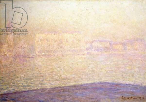 Le Palais Ducal vu de Saint-Georges Majeur, 1908 (oil on canvas)