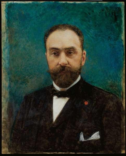 Portrait of Charles Ephrussi, 1906 (oil on panel)