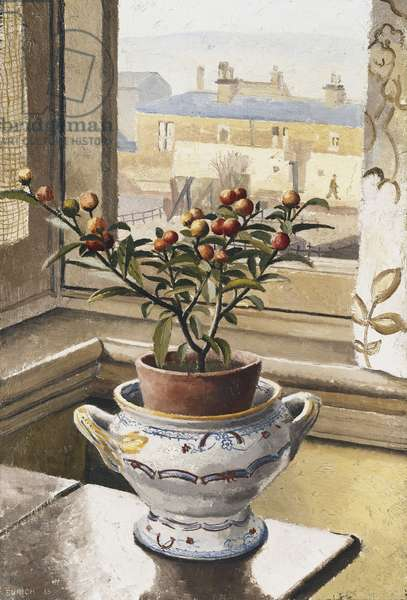 Still Life, Lyme Regis, 1933 (oil on canvas)