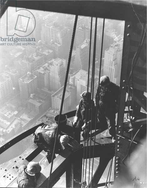 Empire State Building, New York City, c.1930 (gelatin silver print)