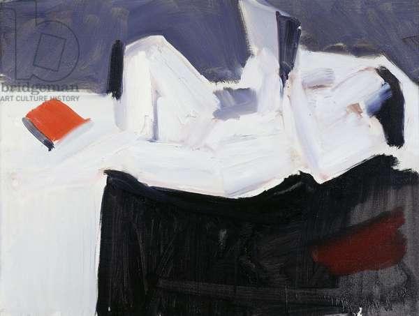 Nude Reading; Etude de Nu, 1953 (oil on canvas)