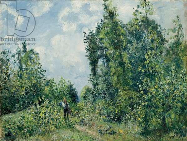 Edge of the Woods; Lisiere de bois, 1878 (oil on canvas)
