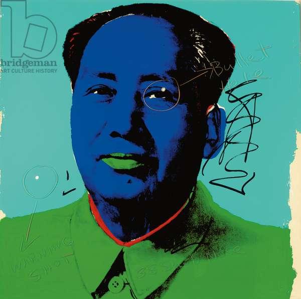 Mao, 1972 (screenprint)