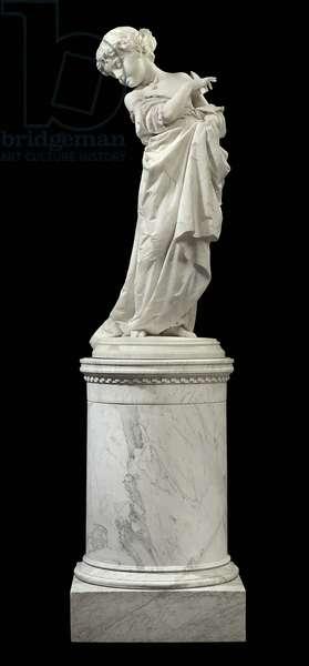 Vanerella, c.1870 (marble)