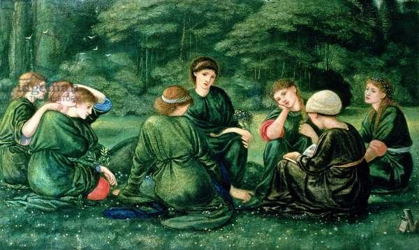 Green Summer, 1868 (oil on canvas)