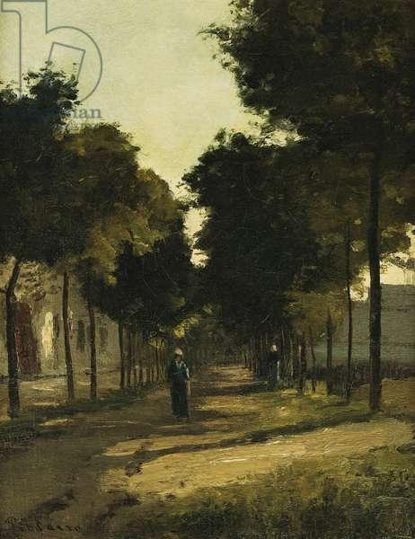 Road; La Route, c. 1870 (oil on canvas)
