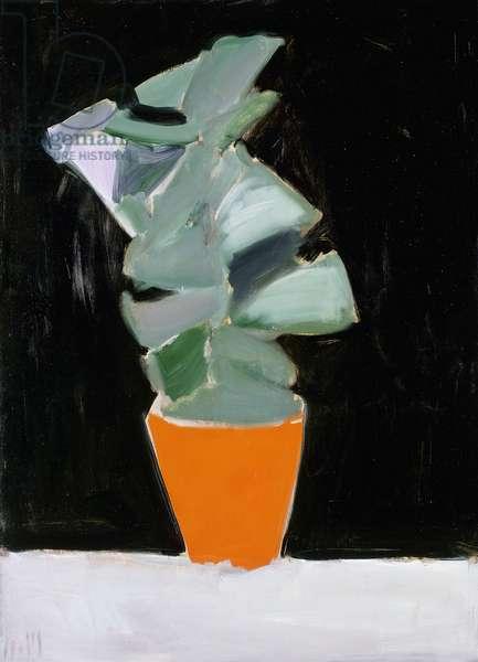 Fleurs a Fontenay, 1954 (oil on canvas)